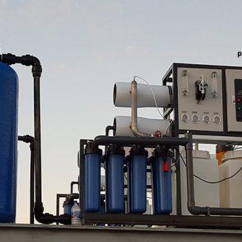 تصفیه آب به روش سیستم اسمز معکوس RO